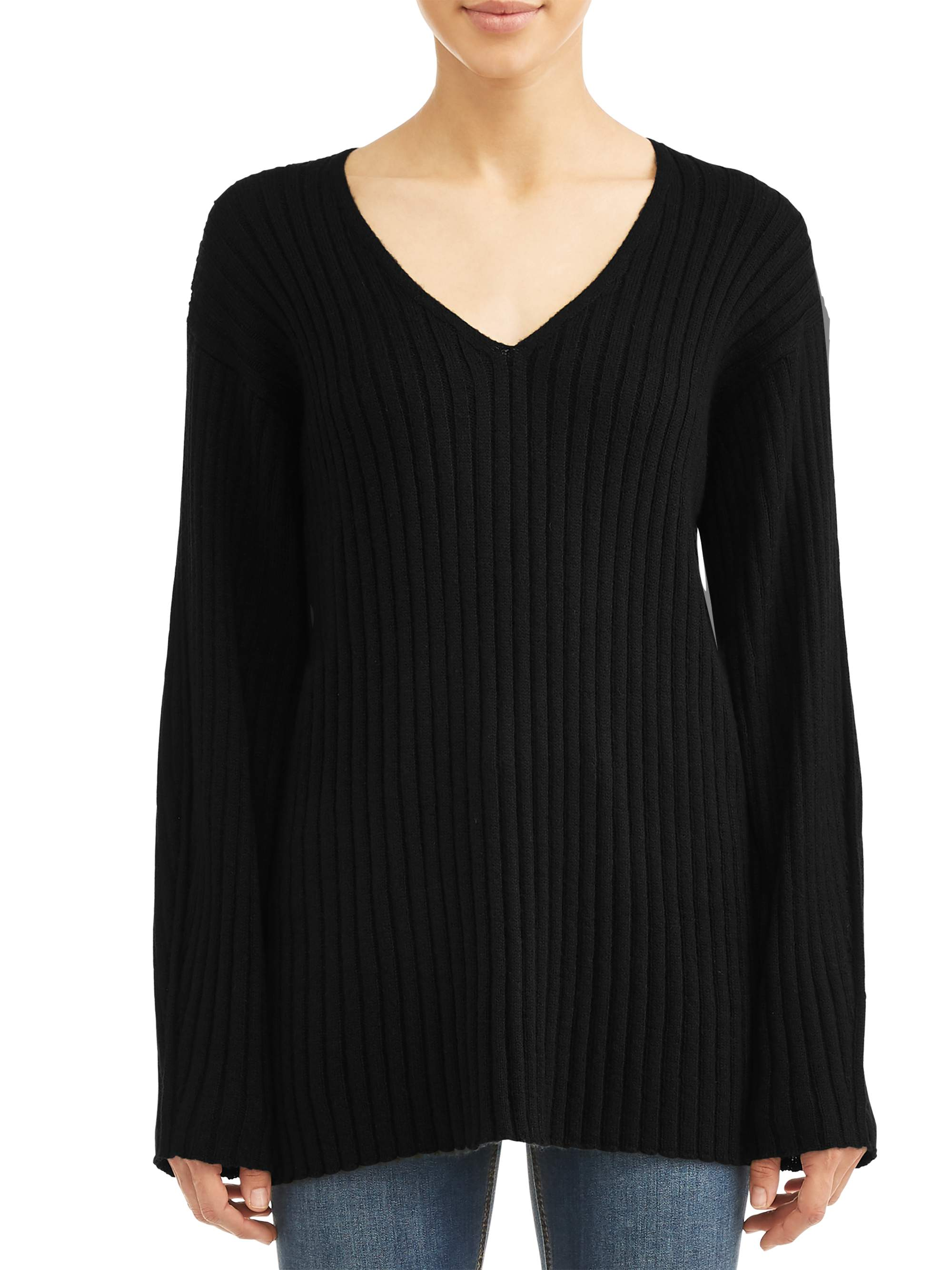 Penny Ribbed Sweater Women's