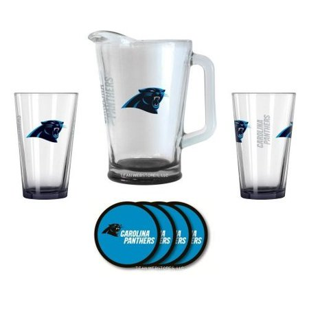 - Carolina Panthers Beer Pitcher Gift Set