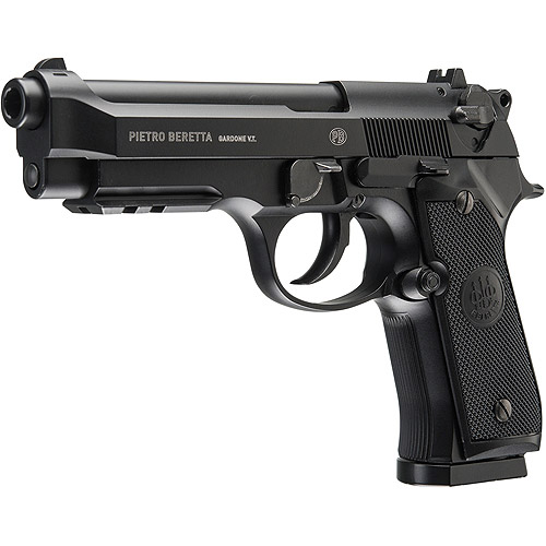 Beretta Model 92A1 Full Auto Blowback .177 BB CO2 Air Pistol, Black by Generic