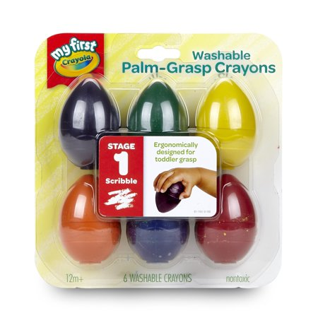 Washable Palmgrasp Crayons 6 Pk - image 3 of 6