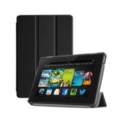 """DigitalsOnDemand ® Slim Magnetic Leather Case Stand Cover Case Stand for Amazon Fire HD 7"""" 4th Gen (2014 Release) - Lightweight Durable Protective Hardback (1 Year Manufacture Warranty)"""