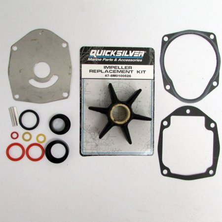 Mercury Quicksilver New OEM Water Pump Impeller Repair Kit 47-8M0100526 Alpha +