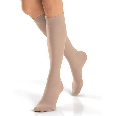 (Jobst Ultrasheer 20-30 mmHg Large Natural Knee High Petite)