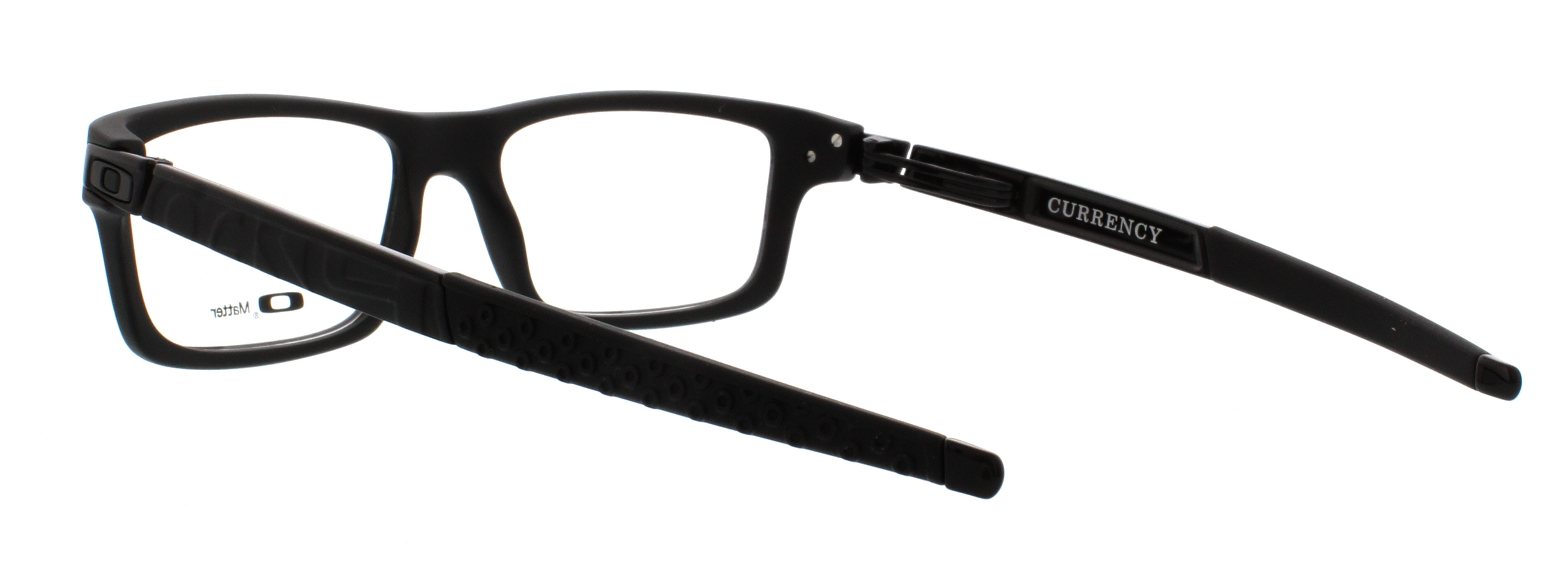 6f6d8672db Oakley Currency OX8026 01 54mm Unisex Rectangular Eyeglasses - Walmart.com