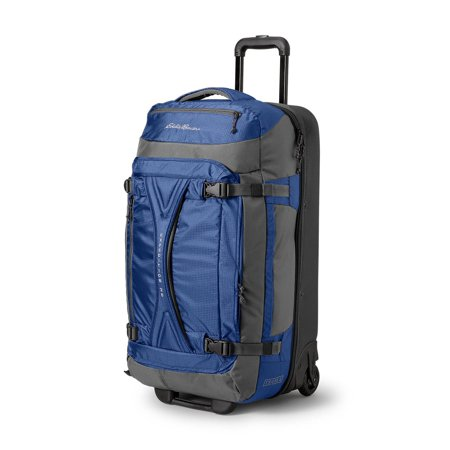 Eddie Bauer Unisex-Adult Expedition Drop-Bottom Rolling Duffel - - Expedition Dry Duffel