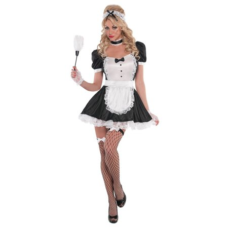 Sassy Maid Adult Costume - Small - Deadpool Maid Costume