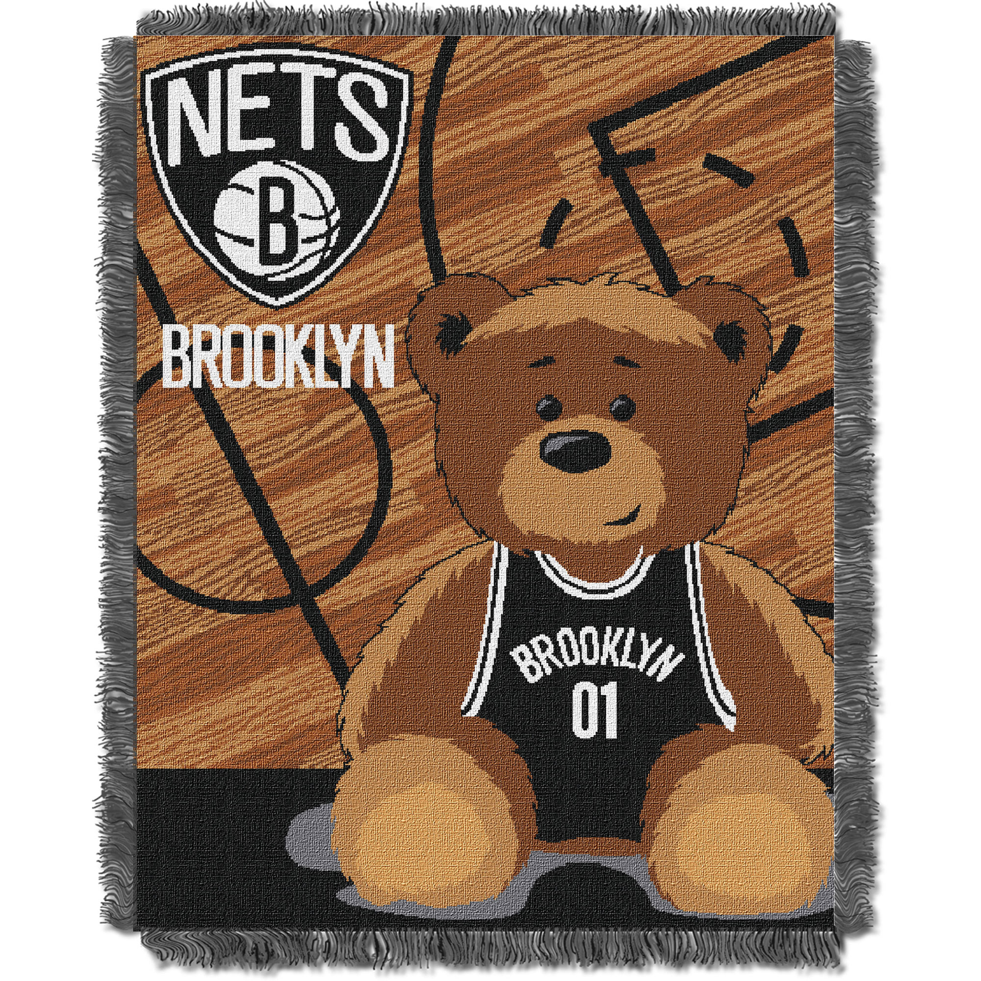 Brooklyn Nets The Northwest Company 36'' x 46'' Baby Jaquard Throw - No Size