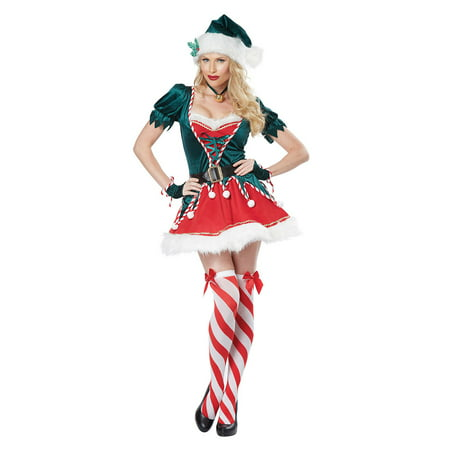 Womens Sexy Santa's Helper Halloween Costume