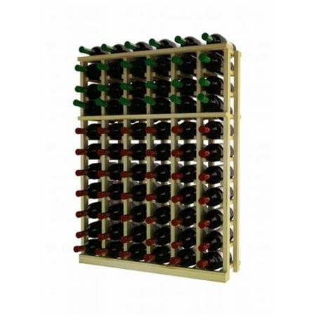 Wine Cellar Innovations RP-UN-HH Traditional Series 6 Column Individual Half Height Wine Rack