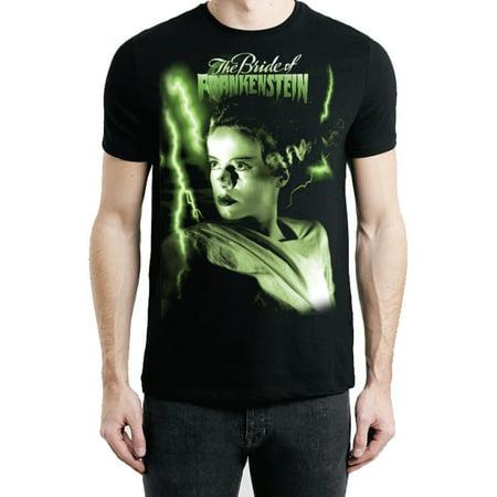 Bride of Frankenstein Men's Green Bride T-Shirt - Frankenstein Jacket