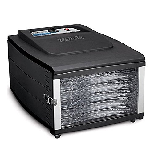 Waring DHR50 6-Tray Food Dehydrator (Black)