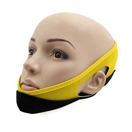 Shaping Facial Lift - Yellow Neoprene Facial Beauty Chin Cheek Lift Up Shaping Strap Face Firming Band