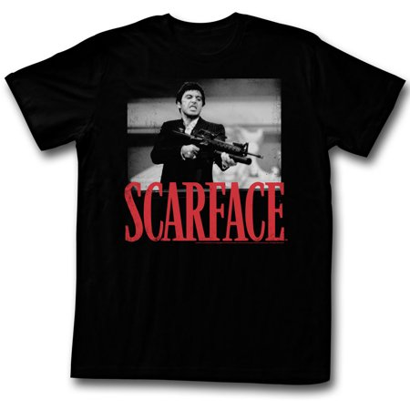 Scarface Men's  Shootah T-shirt Black