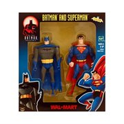 "the new batman adventure animated series batman & superman 5"" action figures (2001 hasbro)"
