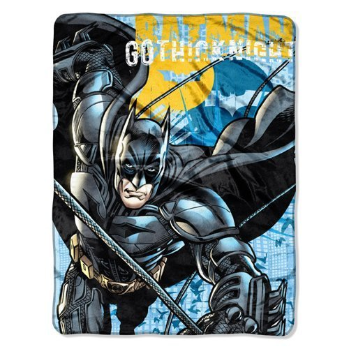 "Batman ""Call of the Bat"" Micro Raschel Blanket"