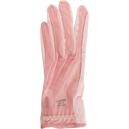 Lady Classic Ladies Solar Tan Golf Gloves Pink Large