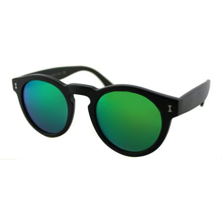 Illesteva ILLeonard 02GM Women's Round Sunglasses