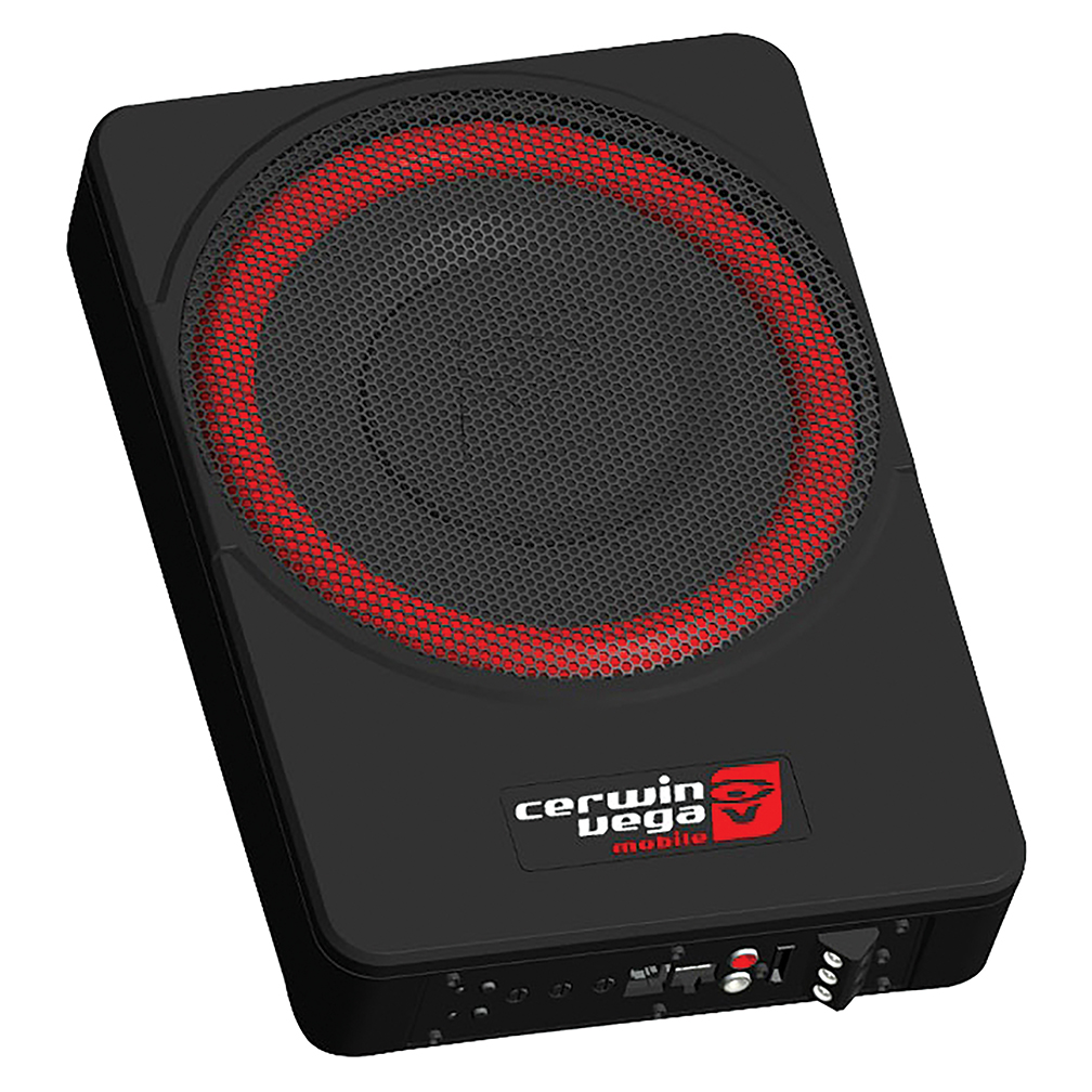 "Cerwin-Vega Mobile VPAS10 Vega 10"" Powered Active Subwoofer Enclosure"