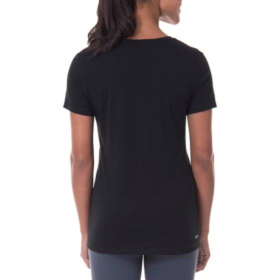 3e2304f3 Danskin Now - Women's Active Fitspiration Short Sleeve Graphic V ...