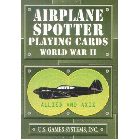 Airplane Spotter World War II Card Game