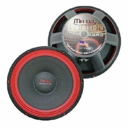 Mr. Dj USA MVDJ-1000BK USB Dj Mix Controller with Dual Individual Mixing Channels Dj Mixing Board