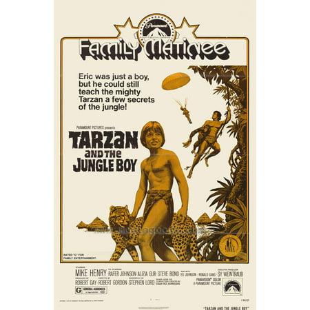 Tarzan and the Jungle Boy POSTER Movie (27x40) - Tarzan Halloween