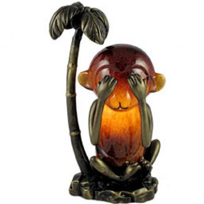 Standard Specialty 1432 Monkey See No Evil Table Lamp
