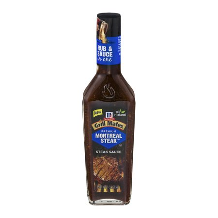 Mccormick grill mates montreal steak sauce 10 0 oz - Steak d espadon grille sauce combava ...