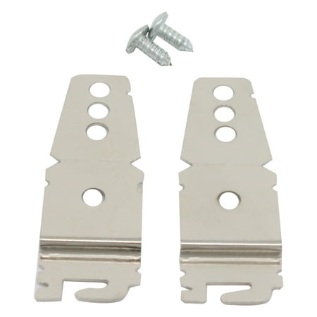 8212560 & 8269145 Mounting Bracket Replacement Kit With Screw Replacement for KitchenAid KUDC10FXBL2 Dishwasher - Compatible with WP8269145 & 8212560 Undercounter Dishwasher Mounting Bracket - image 4 of 4
