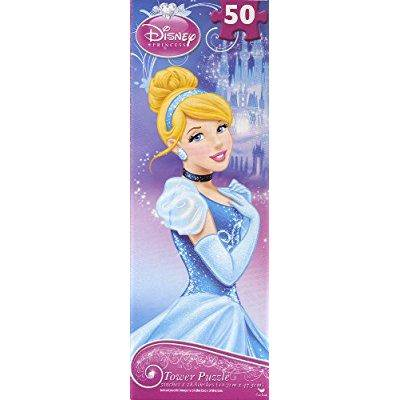 disney princess cinderella puzzle tower jigsaw puzzle 50 pieces by