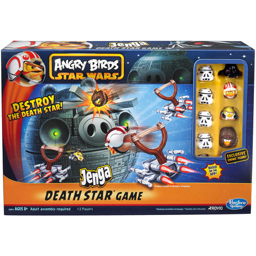 Angry Birds Star Wars Jenga Death Star Battle Game from ...
