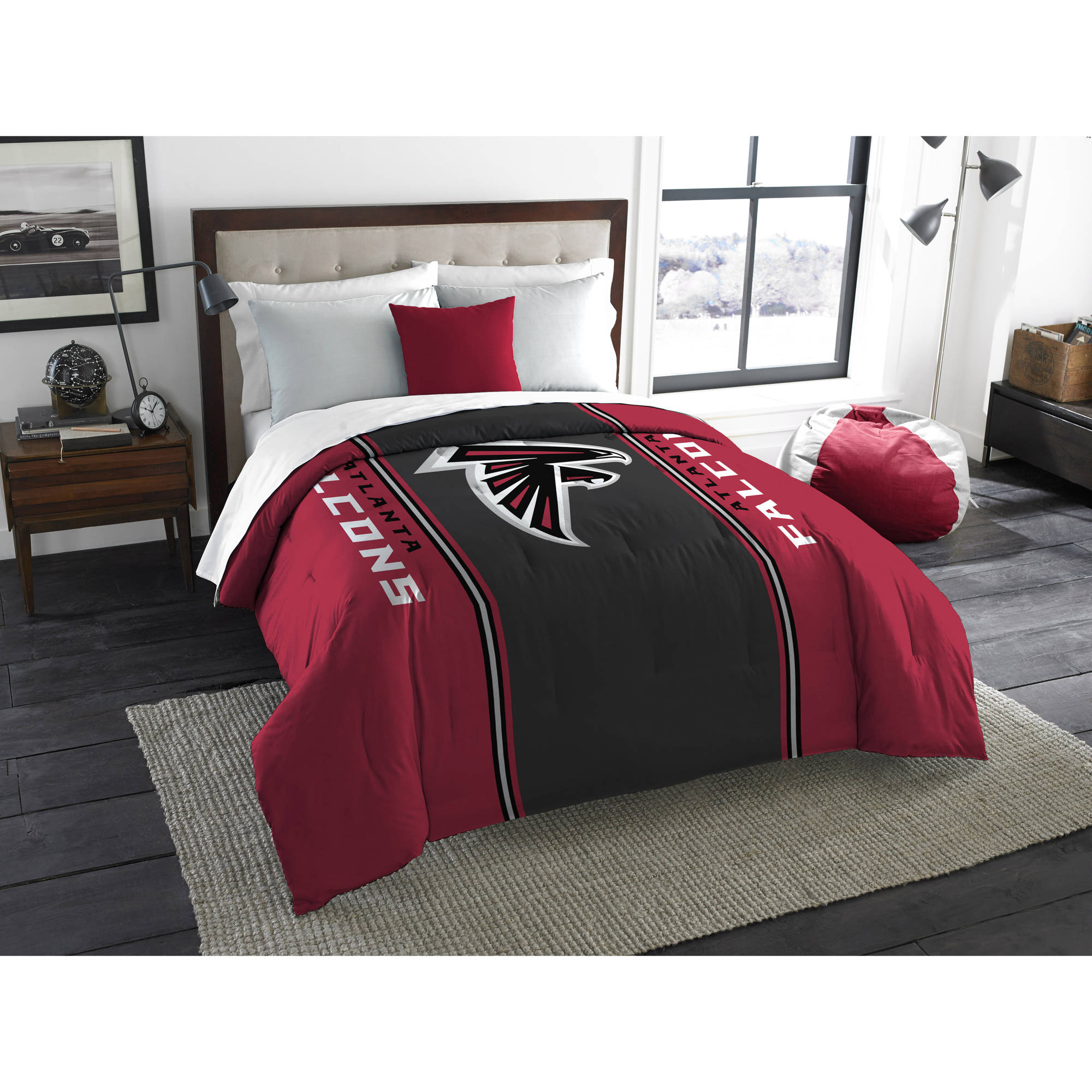 "NFL Atlanta Falcons ""Mascot"" Twin/Full Bedding Comforter"