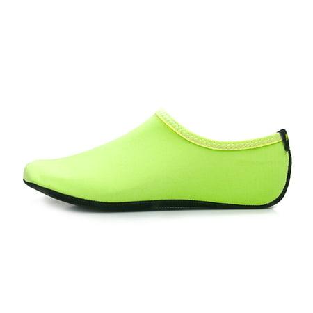 Lixada Men Women Breathable Skin Shoes Quick Drying Beach Socks Pool Swimming Diving Aqua Socks Surfing Yoga Barefoot (Swim Skins Sale)