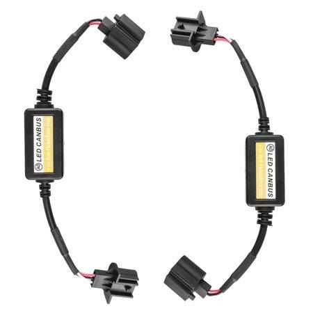 2x H13 LED Headlight Canbus Error Free Anti Flicker Resistor Canceller (Best Led Headlight Brand)