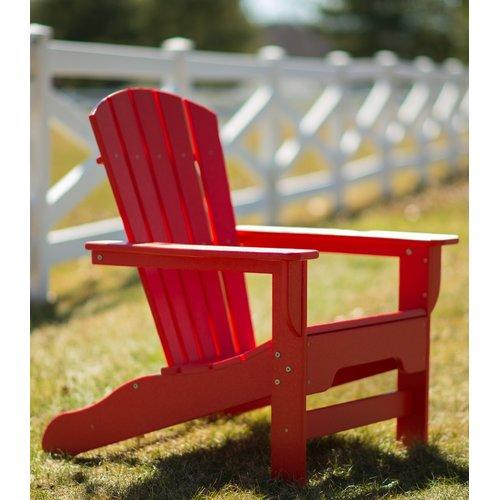 Breakwater Bay Strickland Plastic Adirondack Chair