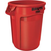 Rubbermaid Commercial, RCP263200RDCT, Brute Vented Container, 6, Red