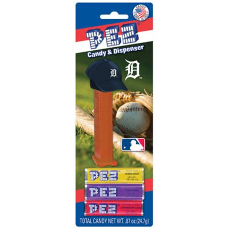 12 Packs Of Mlb Pez Candy Dispenser   Tigers Detroit Tigers  Colors May Vary
