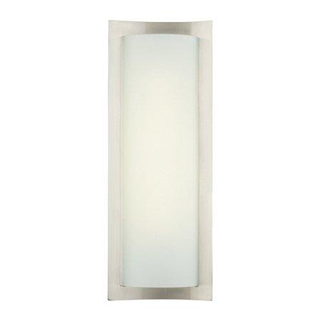 Philips forecast 24w 120v bow wrap modern bathroom wall light lamp philips forecast 24w 120v bow wrap modern bathroom wall light lamp satin nickel aloadofball Choice Image