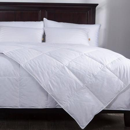 puredown lightweight down comforter duvet insert 100 cotton 550 fill power king size white. Black Bedroom Furniture Sets. Home Design Ideas
