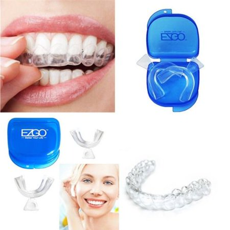 2pc Dental Thermoforming Moldable Teeth Whitening Trays Bleaching - Dental Whitening Formula 40 Strips