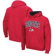 Fresno State Bulldogs Colosseum Arch & Logo Pullover Hoodie - Red