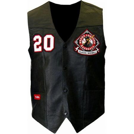 Big Boy NLBM Mens Leather Jacket Vest [Black - 2XL]