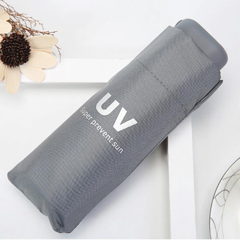Amethyst Granite Automatic Tri-fold Umbrella Folding Rain Umbrell Sunshade
