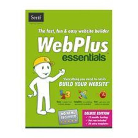 Serif 703115685147 Webplus Essentials Program CD for PC - Web
