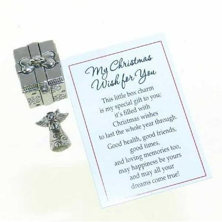 My Christmas Wish For You Prayer Box Charm