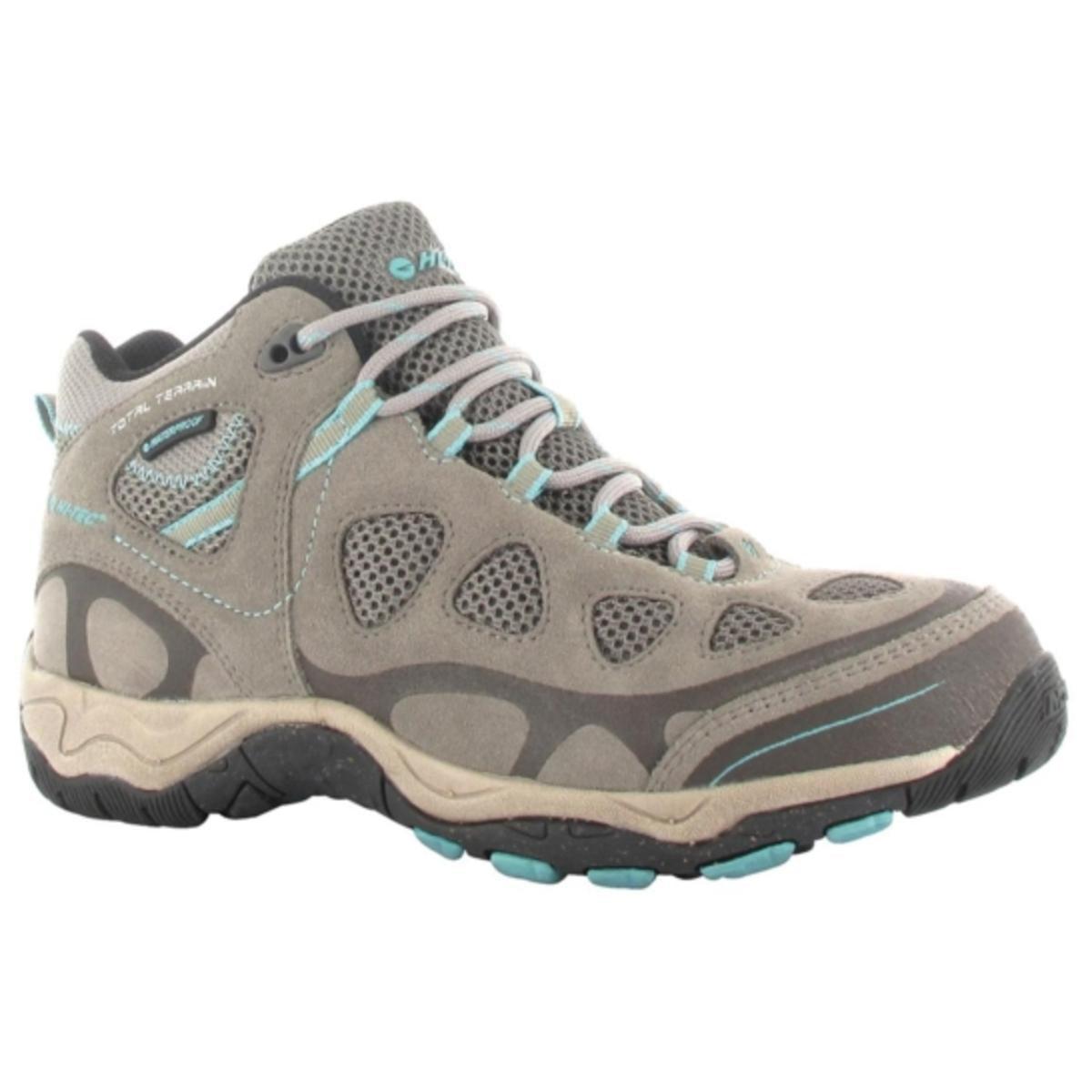 Hi-Tec 40691Total Terrain Mid WP Womens Waterproof Shoe, Hot Grey Aquamatic by Hi-Tec