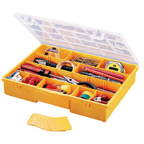 Stack-On 17-Compartment Portable Tool/Parts Box