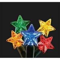 Kellogg Plastics 51417 Holiday & Christmas Indoor & Outdoor LED- Multi Color - Star
