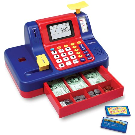 Best Learning Resources Pretend and Play Teaching Cash Register deal