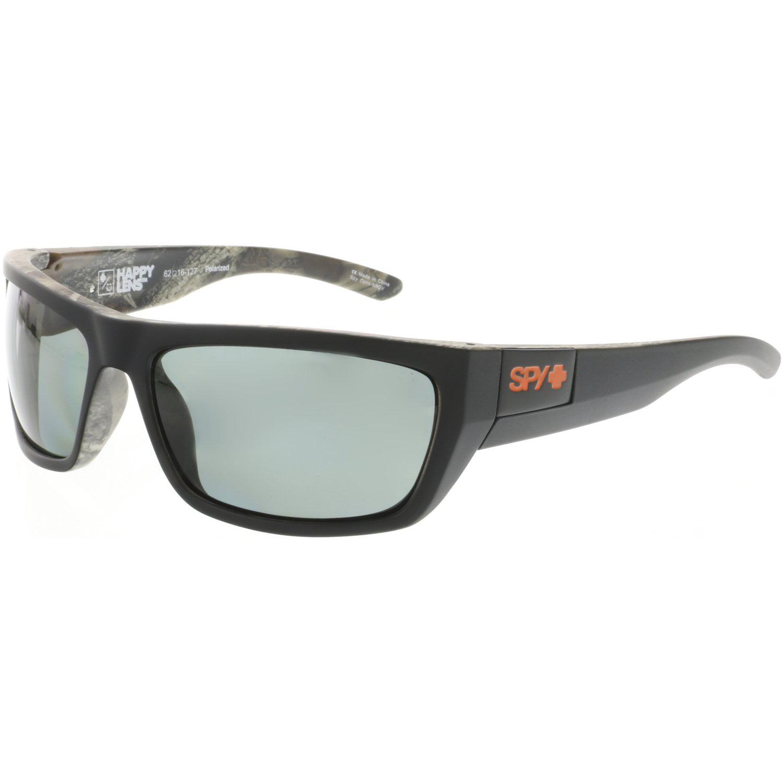 7e03cfa392 Spy Men s Polarized Dega 673368423864 Black Rectangle Sunglasses
